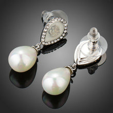 Load image into Gallery viewer, Designer Pearl Drop Earrings - KHAISTA Fashion Jewellery