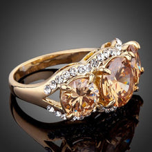 Load image into Gallery viewer, Engagement Ceremony Ring for Girls - KHAISTA Fashion Jewellery