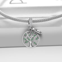 Load image into Gallery viewer, Family Life Tree 925 Sterling Silver Charm - KHAISTA