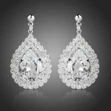 Load image into Gallery viewer, Fashion Cubic Zirconia Drop Earrings - KHAISTA Fashion Jewellery