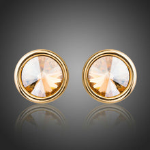 Load image into Gallery viewer, Fashionable Crystal Stud Earring Jewelry For Women Wedding Engagement Party - KHAISTA Fashion Jewellery