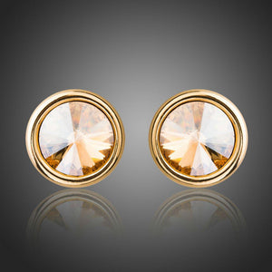 Fashionable Crystal Stud Earring Jewelry For Women Wedding Engagement Party - KHAISTA Fashion Jewellery