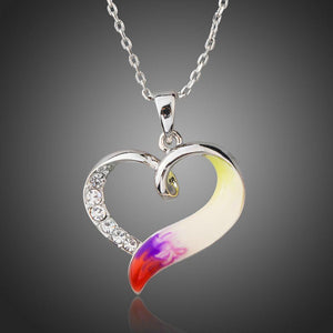 Forever Love Heart Pendant Necklace - KHAISTA Fashion Jewellery