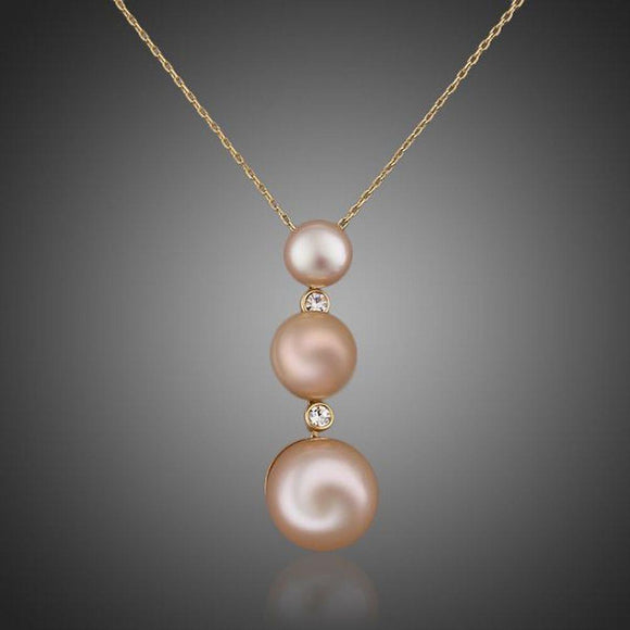 Freshwater Pearls Pendant Necklace - KHAISTA Fashion Jewellery