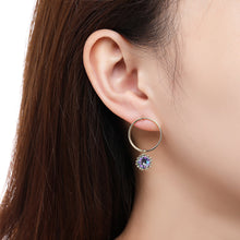 Load image into Gallery viewer, Geometric Dangle Earrings -KPE0381 - KHAISTA Fashion Jewellery