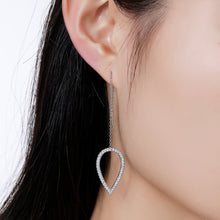 Load image into Gallery viewer, Geometric Long Drop Earrings -KPE0323 - KHAISTA Fashion Jewellery