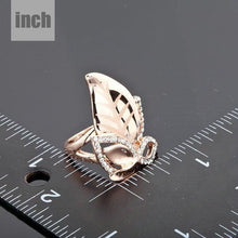 Load image into Gallery viewer, Golden Leaves Design Ring -KFR0007 - KHAISTA
