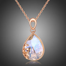 Load image into Gallery viewer, Golden Long Chain Pendant Necklace KPN0248 - KHAISTA Fashion Jewellery