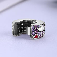 Load image into Gallery viewer, Heart Stopper Beads Clip Charm - KHAISTA