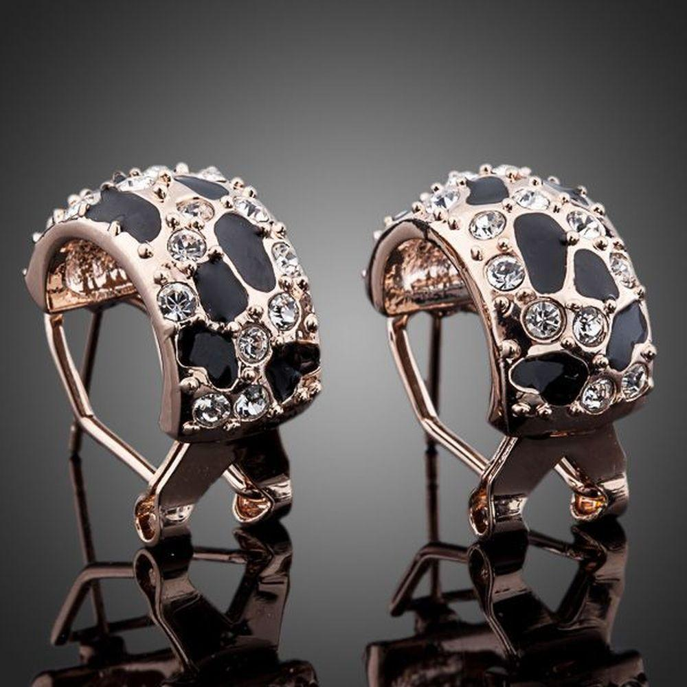 Jaguar Design Clip Earrings - KHAISTA Fashion Jewellery