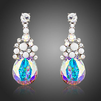 Limited Edition Big Crystal Drop Earrings - KHAISTA Fashion Jewellery