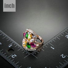 Load image into Gallery viewer, Limited Edition Flower Zirconia Ring - KHAISTA Fashion Jewellery