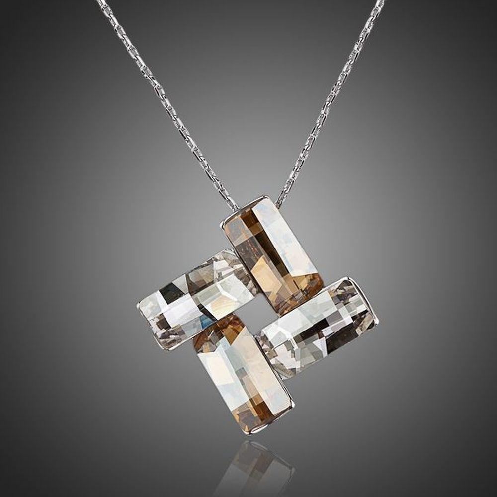 Limited Edition Geometrical Pendant Necklace - KHAISTA Fashion Jewellery