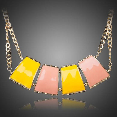 Limited Edition Quadrilateral Pendant Necklace - KHAISTA Fashion Jewellery