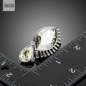 Limited Edition Tear Eye Pin Brooch - KHAISTA Fashion Jewellery