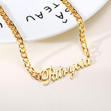 Load image into Gallery viewer, Link Chain Name Necklace - KHAISTA