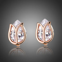 Load image into Gallery viewer, Lotus Stud Earrings -KPE0311 - KHAISTA Fashion Jewellery