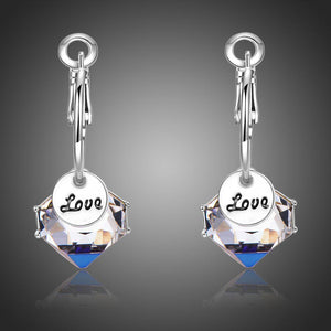 Love Drop Earrings - KHAISTA Fashion Jewellery