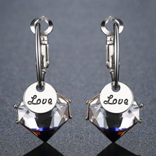 Load image into Gallery viewer, Love Drop Earrings - KHAISTA Fashion Jewellery