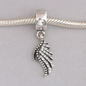Majestic Feather Dangle Charm - KHAISTA