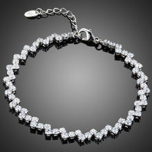Load image into Gallery viewer, Marquise Cut CZ Tennis Bracelet - KHAISTA Fashion Jewellery