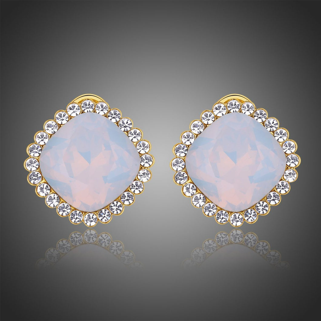 Multicolor Moonlight Stud Earrings -KPE0315 - KHAISTA Fashion Jewellery