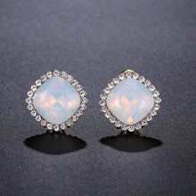 Load image into Gallery viewer, Multicolor Moonlight Stud Earrings -KPE0315 - KHAISTA Fashion Jewellery