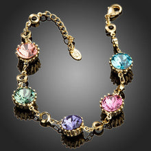 Load image into Gallery viewer, Multicolor Muffin Chain Bracelet - KHAISTA Fashion Jewellery