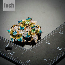 Load image into Gallery viewer, Oil Painting Flower Pin Brooch - KHAISTA Fashion Jewellery