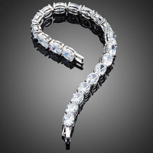 Load image into Gallery viewer, Oval Cubic Zirconia Tennis Bracelet for Woman - KHAISTA Fashion Jewellery
