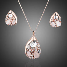 Load image into Gallery viewer, Party Crystal Necklace and Earrings Set - KHAISTA Fashion Jewellery