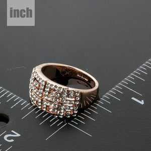 Paved G Party Ring - KHAISTA Fashion Jewellery