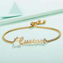 Load image into Gallery viewer, Personalized Name Bracelet Stainless Steel - KHAISTA