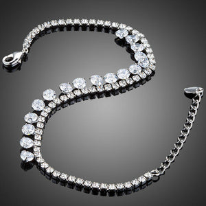Princess Cut Pave Bracelet - KHAISTA Fashion Jewellery