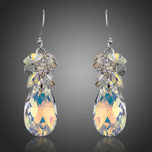 Load image into Gallery viewer, Rhinestone Crystal Water Drop Earrings - KHAISTA Fashion Jewellery