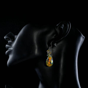 Rhinestone Crystal Water Drop Earrings - KHAISTA Fashion Jewellery