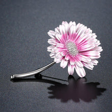 Load image into Gallery viewer, Roast Paint Chrysanthemum Brooch - KHAISTA Fashion Jewellery