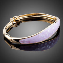 Load image into Gallery viewer, Rose Gold Classic Design Bangle -KBQ0034 - KHAISTA Fashion Jewelry