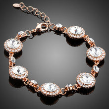 Load image into Gallery viewer, Round Lobster Crystal Bracelet - KHAISTA Fashion Jewellery