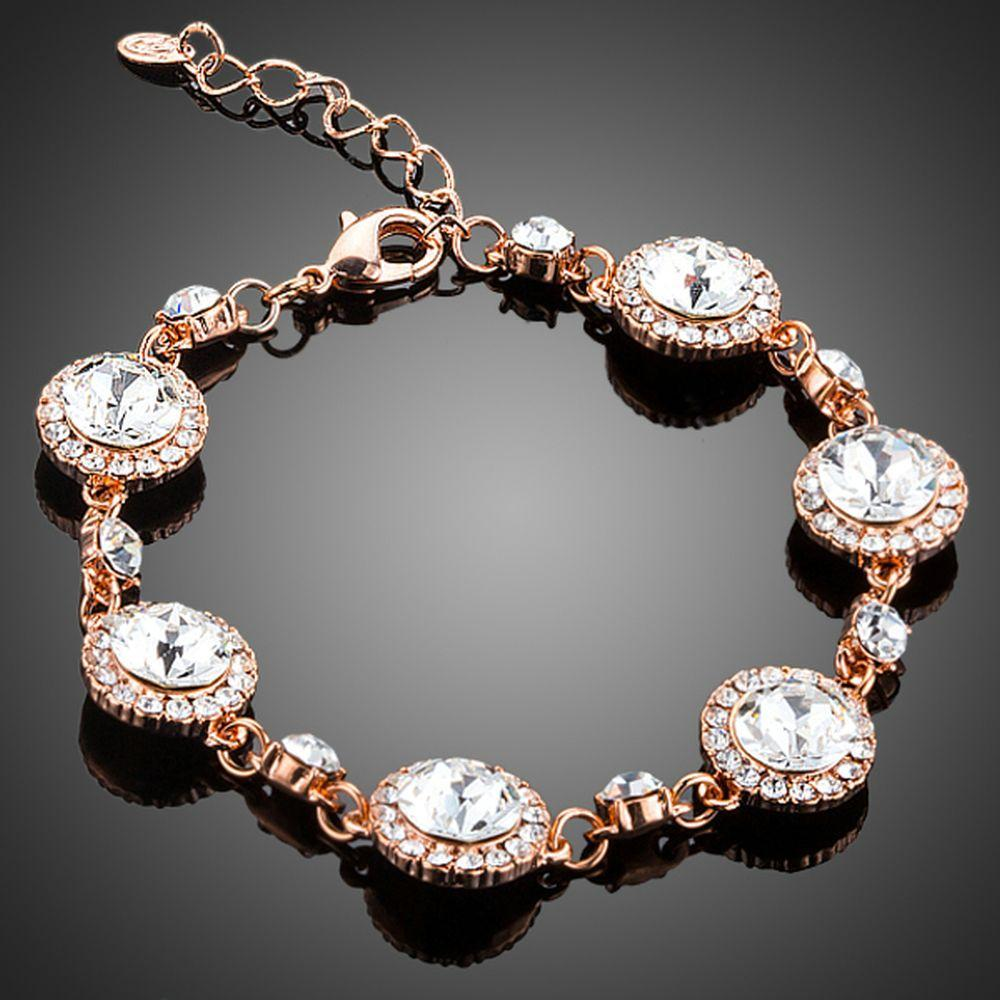 Round Lobster Crystal Bracelet - KHAISTA Fashion Jewellery