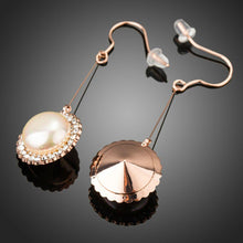 Load image into Gallery viewer, Round Pearl Earrings -KPE0285 - KHAISTA Fashion Jewellery