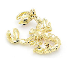 Load image into Gallery viewer, Scary Scorpion Brooch - KHAISTA Fashion Jewellery