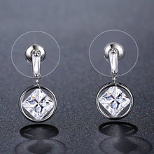 Load image into Gallery viewer, Silver Color Drop Earrings -KPE0339 - KHAISTA Fashion Jewellery