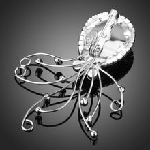 Load image into Gallery viewer, Sky Blue Octopus Brooch Pin - KHAISTA Fashion Jewellery