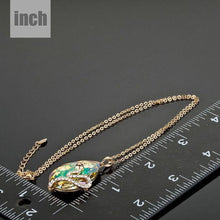 Load image into Gallery viewer, Sleeping Snake Pendant Necklace KPN0057 - KHAISTA Fashion Jewellery