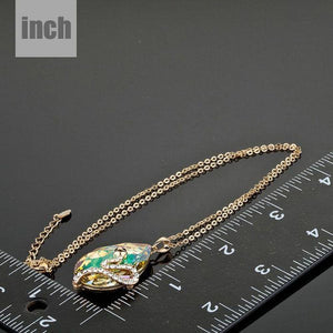 Sleeping Snake Pendant Necklace KPN0057 - KHAISTA Fashion Jewellery