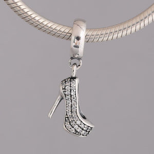 Sparkling Stiletto Dangle Charm - KHAISTA