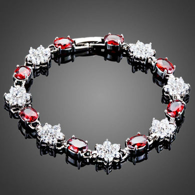 Sparky Flowery Design Bracelet - KHAISTA Fashion Jewellery