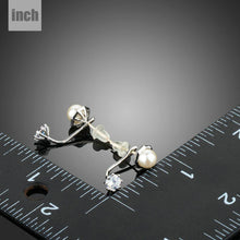 Load image into Gallery viewer, Synthetic Pearl Stud Earrings - KHAISTA Fashion Jewellery
