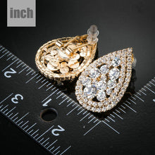 Load image into Gallery viewer, Teardrop Design Stud Earrings -KPE0130 - KHAISTA Fashion Jewellery
